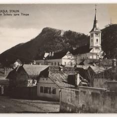 CPI (B7340) CARTE POSTALA - ORASUL STALIN. VEDERE DIN SCHEIU SPRE TAMPA, RPR - Carte Postala Transilvania dupa 1918, Necirculata, Fotografie