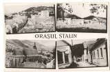 CPI (B7341) CARTE POSTALA - ORASUL STALIN. MOZAIC, RPR, Necirculata, Fotografie