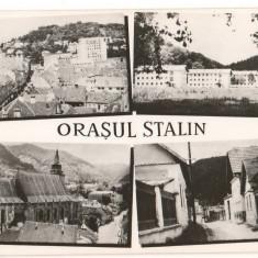 CPI (B7341) CARTE POSTALA - ORASUL STALIN. MOZAIC, RPR