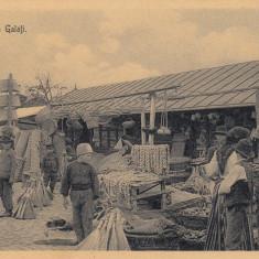 SALUTARI DIN GALATI  PIATA ZI DE TARG  ED. LIBRARIA  NEGOESCU& MANITIU , GALATI, Necirculata, Printata