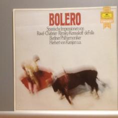 RAVEL/KORSSAKOFF/ DE FALLA - BOLERO(1978/Deutsche Grammophon/RFG) - VINIL/ca Nou - Muzica Clasica universal records