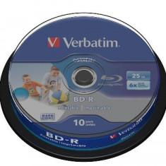 BLU-RAY DISC PRINTABIL VERBATIM 6X CAKE 10 43804