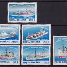 ROMANIA 1995, LP 1380, SERVICIUL MARITIM SERIE MNH - Timbre Romania, Nestampilat