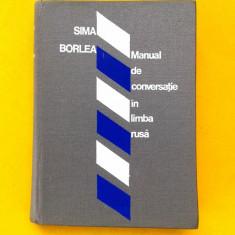 MANUAL DE CONVERSATIE IN LIMBA RUSA Sima Borlea
