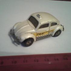 Bnk jc Matchbox - Volkswagen Beetle Taxi - Macheta auto Matchbox, 1:58