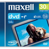 Mini DVD-R Maxell Blank 4x 1, 4GB 8cm in carcasa