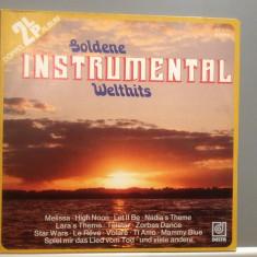 GOLDEN INSTRUMENTAL HITS - 2LP BOX SET(1985/DELTA REC/Germany) - VINIL/ca Nou - Muzica Pop universal records