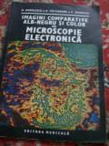 IMAGINI COMPARATIVE ALB-NEGRU SI COLOR DE MICROSCOPIE ELECTRONICA N.MANOLESCU