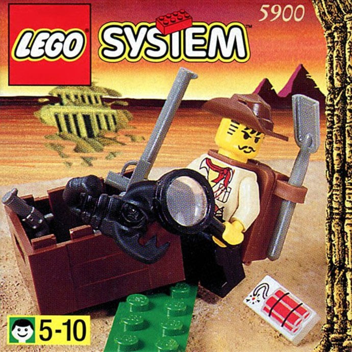 LEGO SYSTEM 5900 (1998) foto mare
