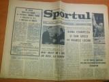 ziarul sport 16 aprilie 1972- articol despre prima divizie la fotbal