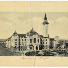 Targu Mures Marosvasarhely carte postala circulata in 1912 - Carte Postala Transilvania 1904-1918, Printata
