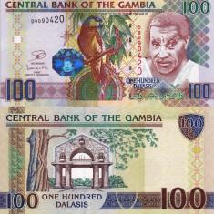 GAMBIA 100 dalasis 2013 UNC!!! - bancnota africa