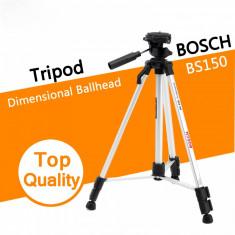 Trepied Foto - Video Bosch BS150 cu cap rotativ 360 grade