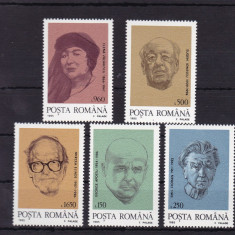 ROMANIA 1995, LP 1395, PERSONALITATI DIN DIASPORA SERIE MNH - Timbre Romania, Nestampilat