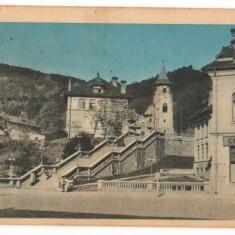 CPI (B7383) CARTE POSTALA - PIATRA NEAMT. SCARICICA SI TURNUL SF. ION, 1958 - Carte Postala Moldova dupa 1918, Circulata, Printata