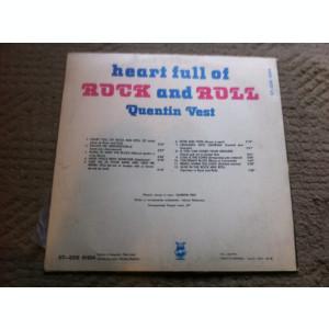 Quentin Vest Heart Full Of Rock And Roll album disc Vinyl lp muzica blues rock