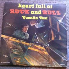 Quentin Vest Heart Full Of Rock And Roll album disc Vinyl lp muzica blues rock - Muzica Rock electrecord, VINIL