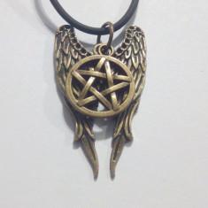 Pandantiv / Medalion / Lant / Amuleta/Colier/ Pentagrama Supernatural + lantisor