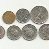 ELVETIA, FRANTA, OLANDA = 7 MONEDE, Europa