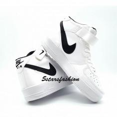 Adidasi Nike Air Force 1 - Adidasi barbati Nike, Marime: 36, 37, 44, Culoare: Din imagine, Piele sintetica