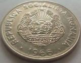 Moneda 25 Bani - RS ROMÂNIA, anul 1966 *cod 3402  xF