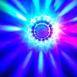 Disco led  sun / soare nou jocuri de lumini efecte