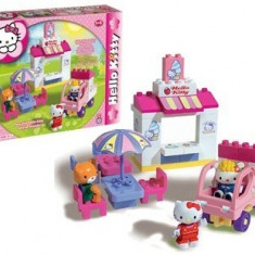 Set constructie Unico Plus Hello Kitty Gelaterie - Jocuri Seturi constructie