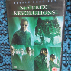 MATRIX REVOLUTIONS (2 DVD-uri cu KEANU REEVES - ORIGINALE!), Engleza