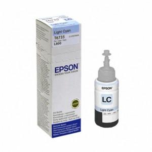 EPSON T6735-cerneala light cyan pentru imprimanta EPSON L800