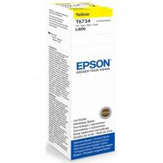 EPSON T6734-cerneala yellow pentru imprimanta EPSON L800 - Cerneala imprimanta