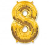 Balon folie figurina, Cifra 8