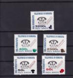 ROMANIA  1999 , LP 1476 ,  NOUA  NUMEROTATIE TELEFONICA SUPRATIPAR CIUPERCI  MNH, Nestampilat