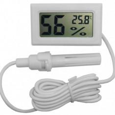 Termometru, Higrometru Digital, Cu Afisaj LCD