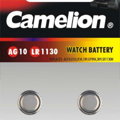 BATERIE ALKALINA AG10 CAMELION - GERMANIA - Baterie ceas