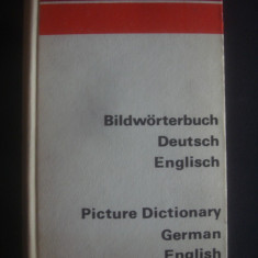 PICTURE DICTIONARY GERMAN AND ENGLISH