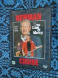 THE COLOR OF MONEY (1 DVD ORIGINAL cu PAUL NEWMAN si TOM CRUISE), Engleza