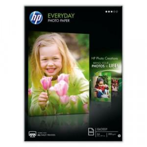 HARTIE FOTO HP EVRYDAY GLOSSY A4/100COLI 200G