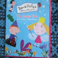 BEN AND HOLLY'S LITTLE KINGDOM - THE MAGIC TEST (1 DVD ORIGINAL ANIMATIE 10 EP.) - Film animatie, Engleza