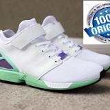 Adidasi Adidas ZX Flux NPS MID ORIGINALi 100% NR 43 1/3 ;44 2/3 - Adidasi barbati, Culoare: Alb