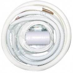 Kit instalare aer conditionat 9000 -12000 btu, teava cupru, cabluri, console,