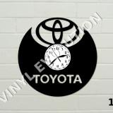 Ceas de perete vinil - sigla masina - Jaguar, Toyota, Peugeot, Corvette, Ferrari
