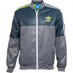 Bluza Originala Adidas Originals Mens 90S Nylon - Jacheta barbati Adidas, Marime: S, Culoare: Din imagine