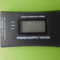 Tester sursa de alimentare PC - afisaj digital
