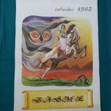 CALENDAR 1982* BASME+ORAR - Calendar colectie