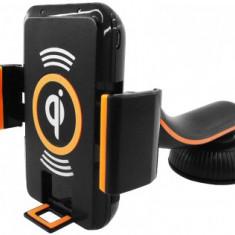 Suport Universal Ptr. Telefone Mobile, Cu Incarcator Fara Fir - Suport birou