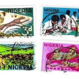 NIGERIA, 4 buc. - Timbre straine, Stampilat