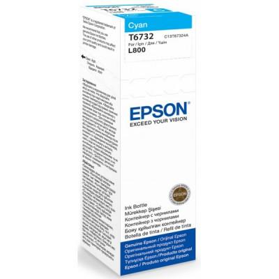 EPSON T6732-cerneala cyan pentru imprimanta EPSON L800 foto