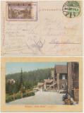 RFL 1914 Posta locala Paltinis Hohe Rinne 3h / 1910 stampila rara pe ilustrata, Stampilat