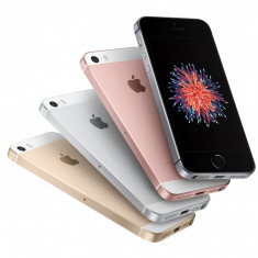 Iphone 5SE 64gb Space grey, gold, silver, rose, noi noute, 12luni garan!PRET:2100lei - Telefon iPhone Apple, Gri