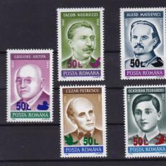 ROMANIA 1998, LP 1468, ANIVERSARI 92 SUPRATIPAR PASARI MNH - Timbre Romania, Nestampilat